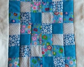 Patchwork Quilt for Baby Doll  Teddy Bear  Cuddly Toy