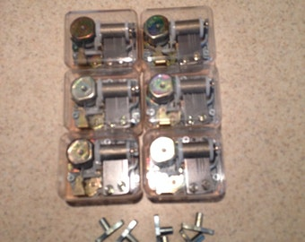 You Light Up My Life, Musical, Music Box Mechanism Lot of 6