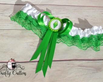 The Sims Wedding Garter - Custom Garter - Traditional Garter - Bridal Garter - Satin Garter - Lace Garter - Novelty Garter