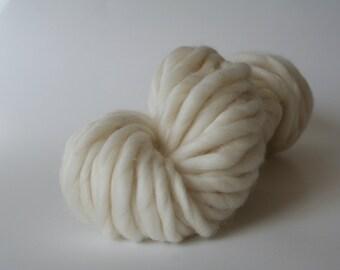 Naked Handspun Merino Super Bulky Yarn