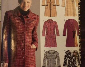 SALE New Look Princess Seamed Coat Pattern 6518