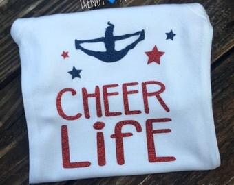 Cheer life shirt