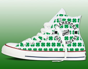 St Patricks Day Chucks