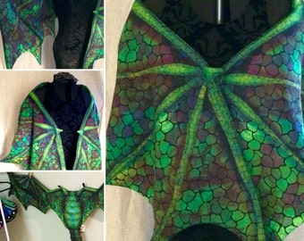 Large Dragon wings custom color  no tail