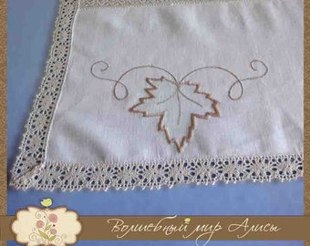 "Tablecloth ""Maple Leaf"""