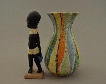 Vintage vase / Jasba / 581 16   West Germany   WGP   60s