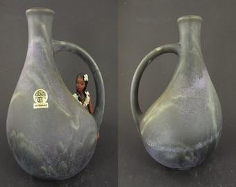 Rare vintage ceramic vase / Ruscha / model 333   West German Pottery   60s