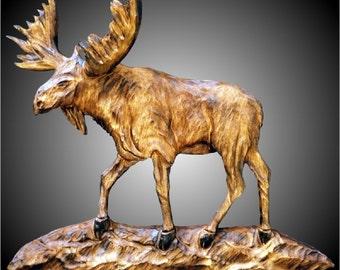 Moose Wall Sculpture