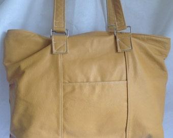 Soft Leather Italian Bag