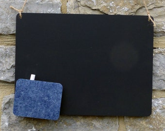 Classic Chalk Board with String, Felt and Chalk  #DC0001