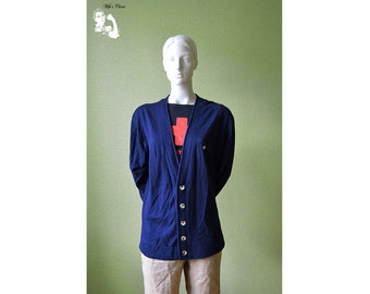 Dark blue men's jacket, free time jacket, boy's jacket, Navy blue jacket 83