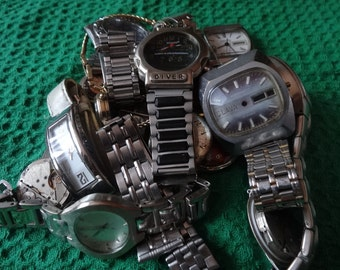 Various watches and mechanism . Not work .
