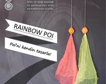 Rainbow Poi