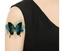Temporary Tattoo - Watercolor Butterfly