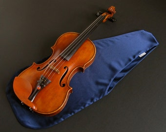 Virtuoso Satin Violin Bag - Navy Blue