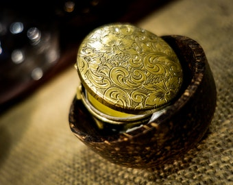 Desert Song ~ Solid Perfume Compact