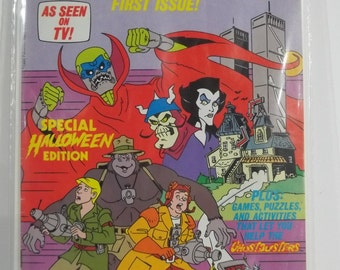 Issue 1 of Filmation Ghostbusters Comic Book
