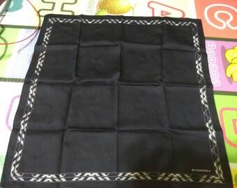 Vintage burberry cotton handkerchief