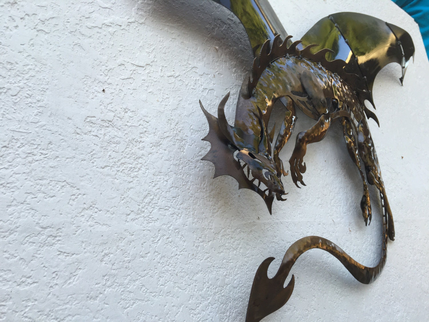 Dragon Metal Dragon Wall Art Art Decor