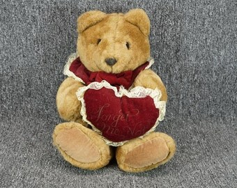 Vintage Willitts Forget Me Not Teddy Bear 1985 Model PA-1872