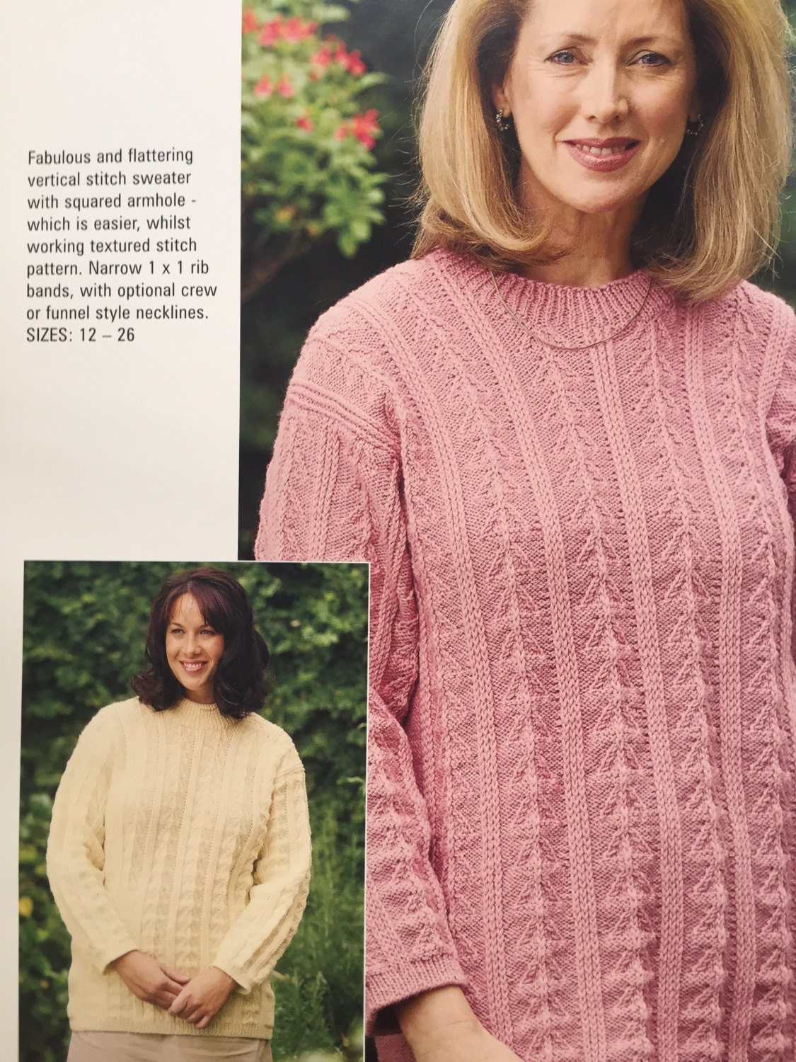 Patons ladies knitting patterns books large plus size 12 26 patons ladies knitting patterns books large plus size 12 26 jumpers sweaters xxl plus size patterns xxxl knits bankloansurffo Gallery