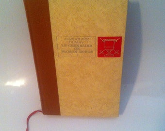 "Book Alexandre Dumas "" le chevalier de maison rouge"" // old book // french book"