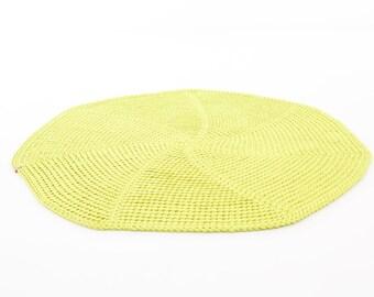 Hand crochet RUG's / poliester rug/   rope  rug