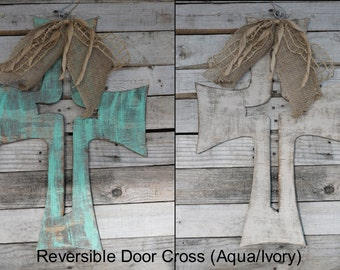 Reversible Cross Door Hanger