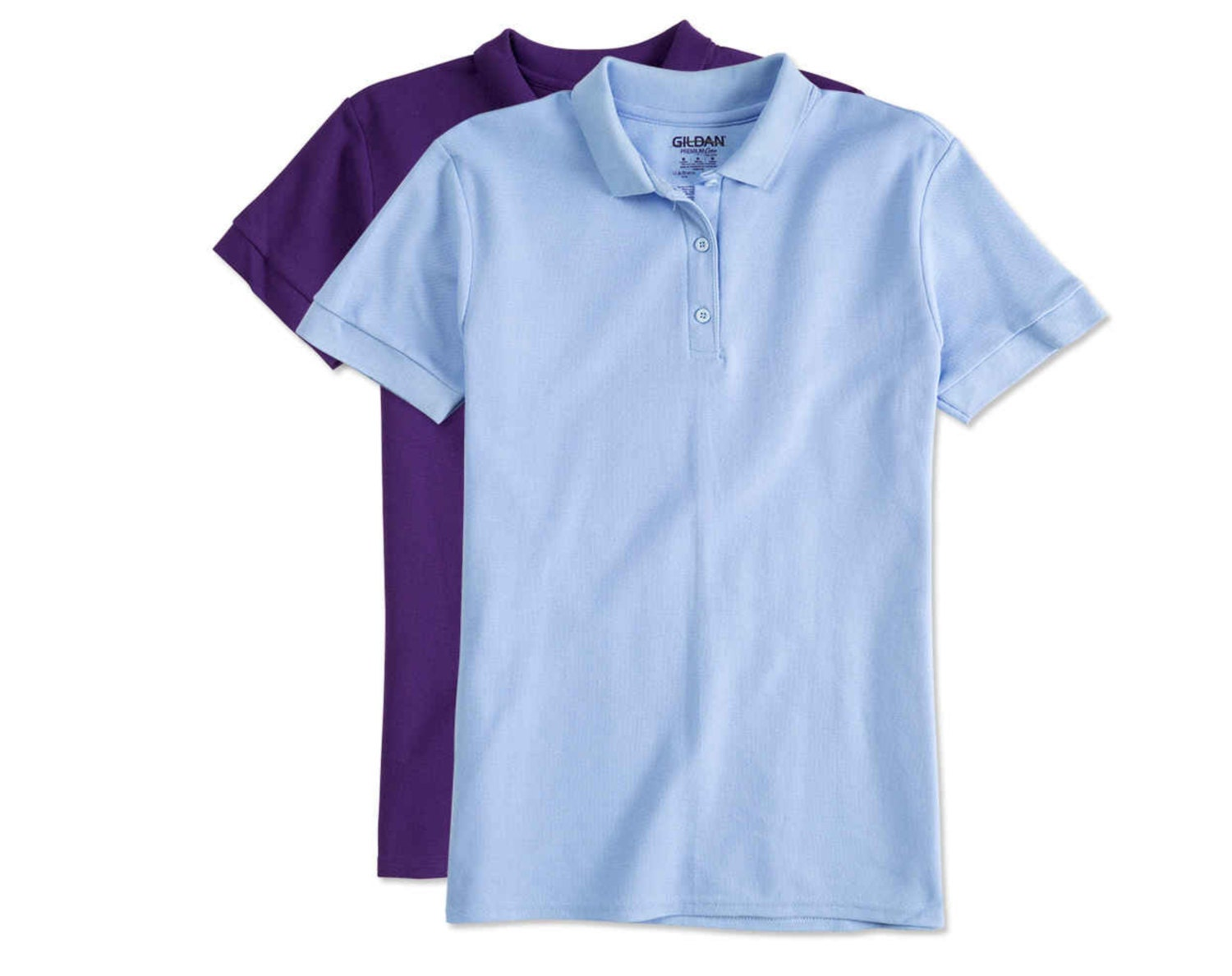 Women 39 s polo with custom embroidered assorted colours for Work polo shirts embroidered