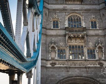 London, England, United Kingdom, Travel, Tower Bridge, Europe, Fine Art Photography Print