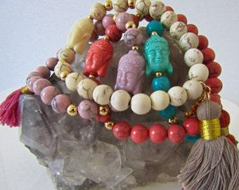 Elephant Bohemian Bracelet Tassel Bracelet Beaded Bracelet