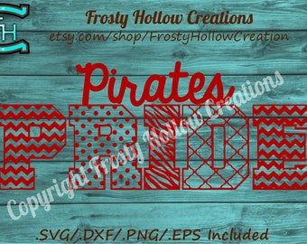 Pirates Pride cutting file SVG instant download PERSONAL USE only!