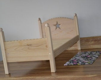"18"" doll stackable bed for dolls such as American Girl and My Generation"