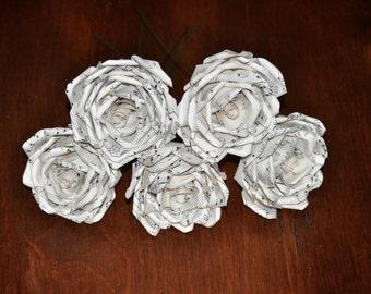 Sheet Music Paper Roses