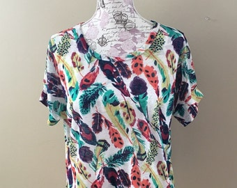 Custom Women's Loose Fit Short Sleeve Dolman