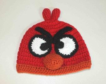 Hand Made Angry Birds Beanie