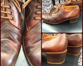 Men's vintage 1970's platform shoes (UK 8)