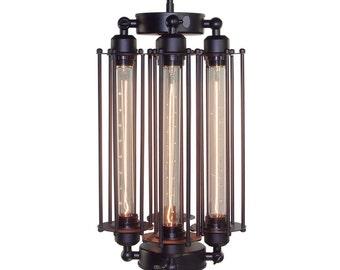 Black Vintage Industrial Pendant Light Shade