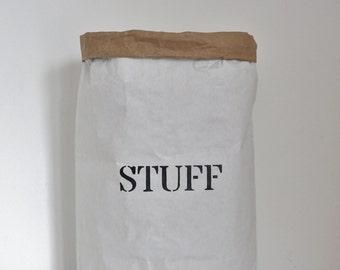 Stuff paper storage bag three sizes