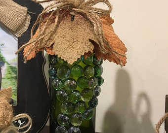 Grape Wine Bottle