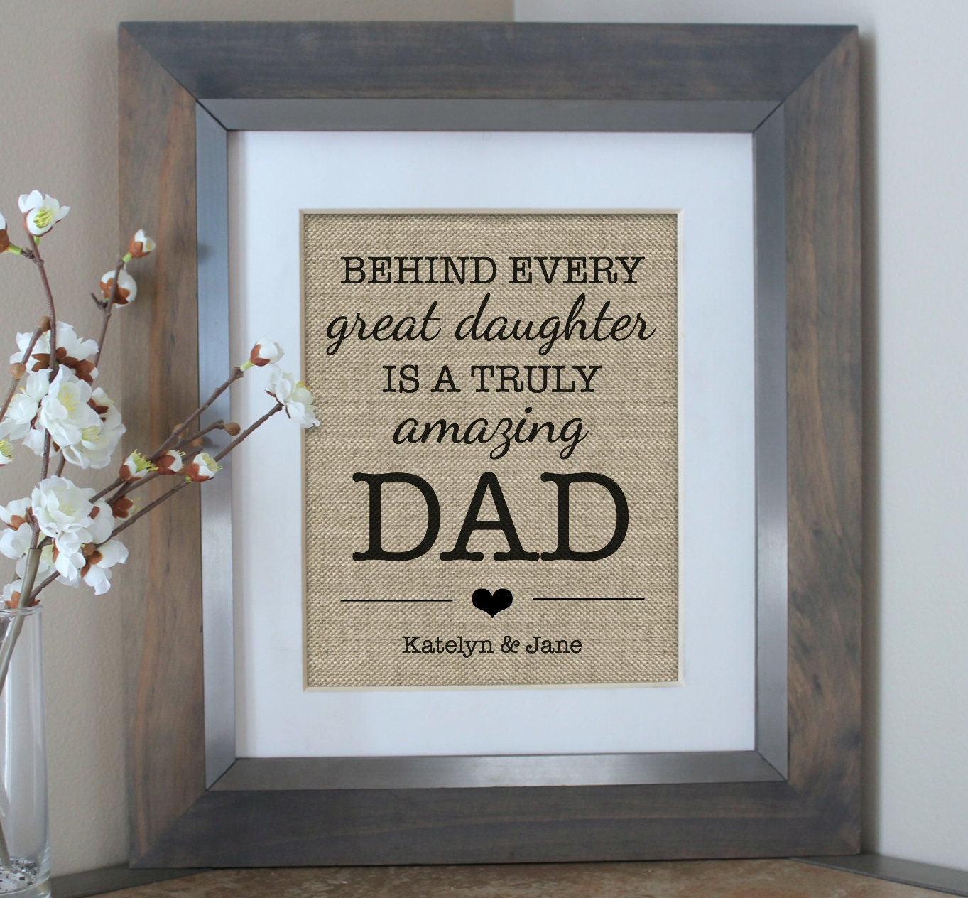 father of the bride gift from daughter personalized gift for