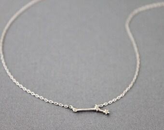 Aries Constellation Necklace Zodiac Necklace Zodiac Sign Necklace Birthday Gift Zodiac Jewelry