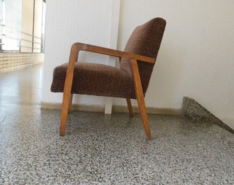 Art deco armchairs, set of four in great condition