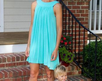 Maternity Dress,Nursing Dress, Breastfeeding Dress, Ready to Ship, Free Shipping.