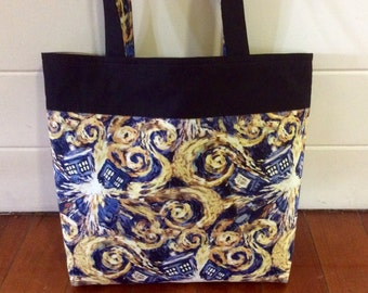 Doctor Who Exploding Tardis tote