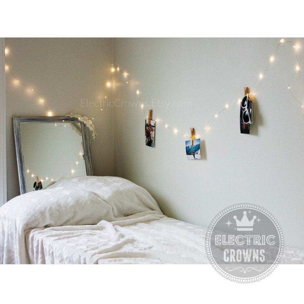 bedroom fairy lights | etsy