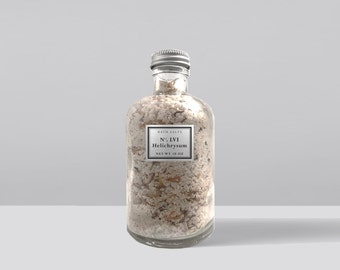 Helichrysum Dead Sea Salt Mineral Bath Soak