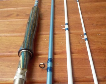 Custom fishing rod. I can make your dream rod a reality! Prices dependent on materials required to make it come true!