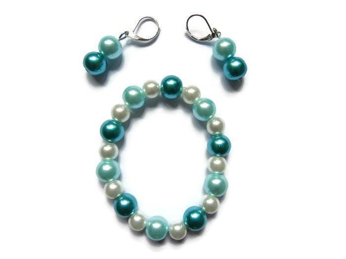 Girls jewelry set little girls jewelry little girl bracelet