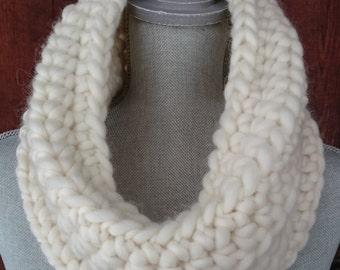Crocheted Peruvian Wool Cowl